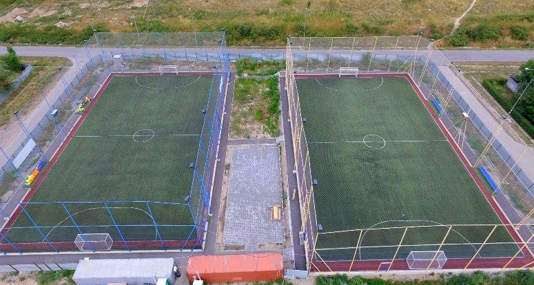 Футбольные поля Олимпия Каскелен